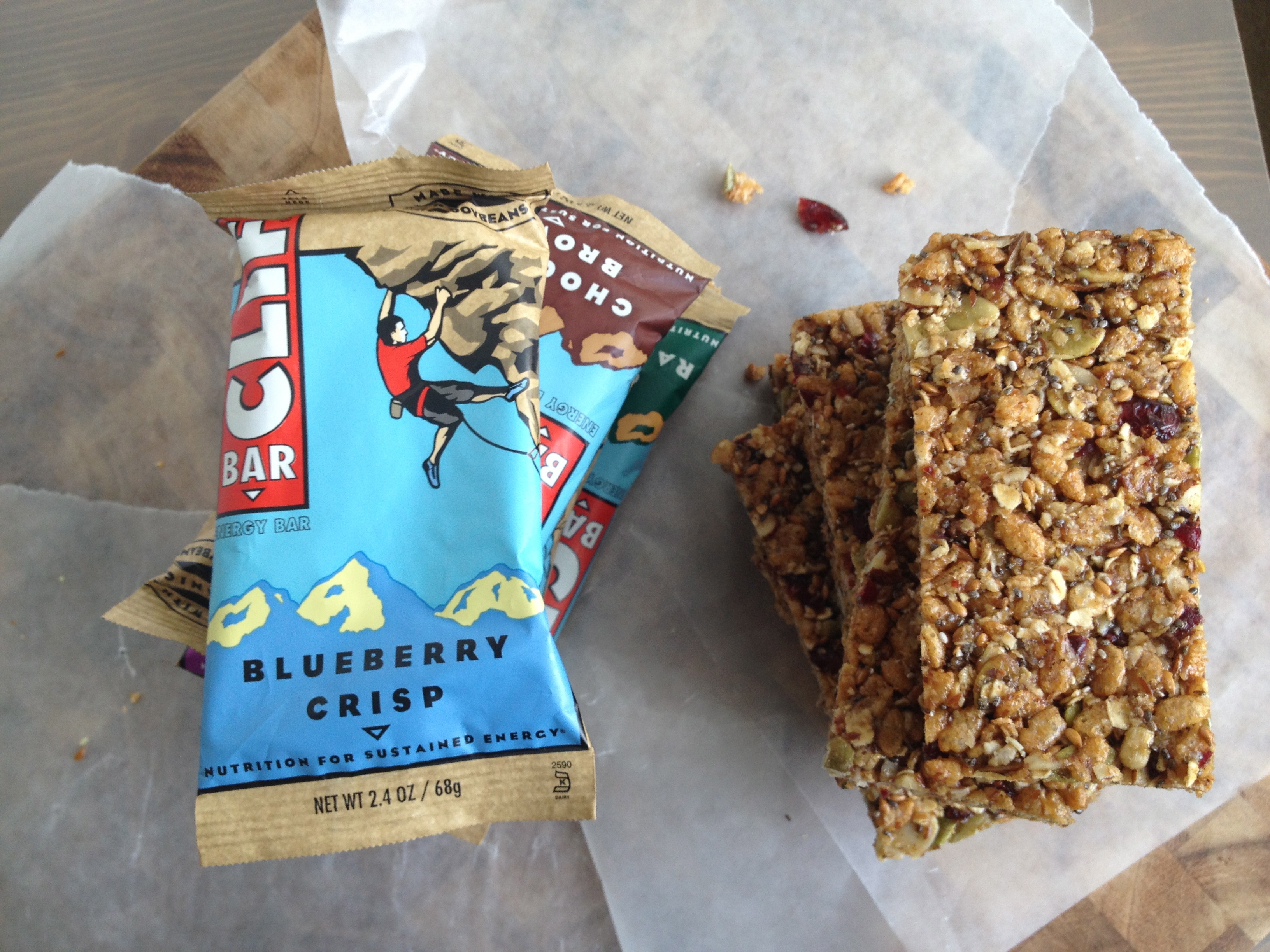Clif bars are a must-have in anyone's pantry because they keep you full for a long time and taste great too. You will keep these around a while because they last a long time and provide you with a nutritious, tasty snack that will keep you full for a while.